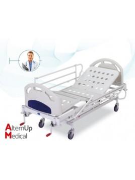 Lit médicalisé mécanique d'hospitalisation