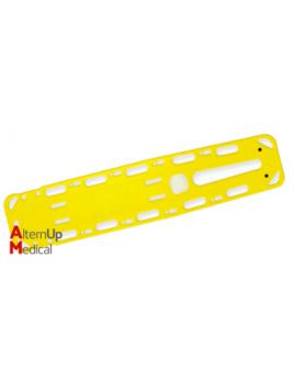 Planche Dorsale d'immobilisation avec Broches B-BAK - jaune