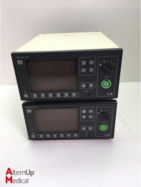 Lot of 2 Kontron Micromon 7141 Vital Signs Monitor