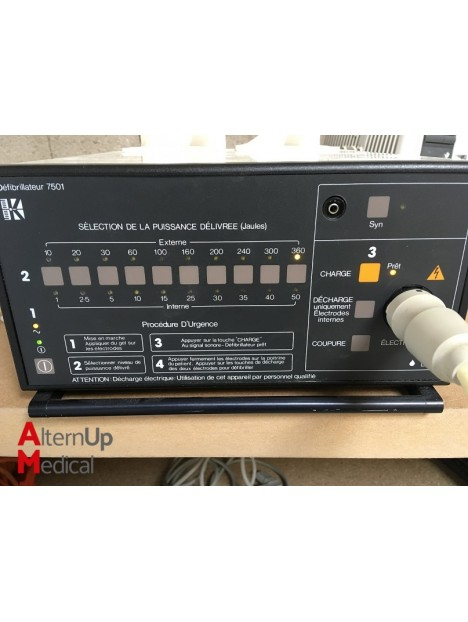 Defibrillateur Kontron 7501