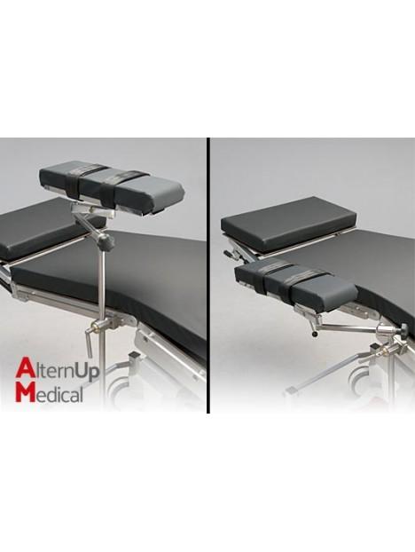 Appui bras latéral pour table d'opération