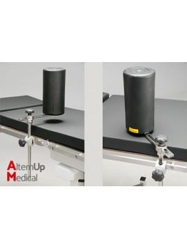 Support rouleau horizontal pour table d'opération