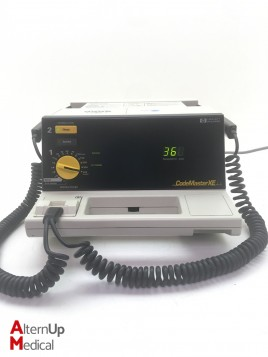 HP Code Master XE M1724A Defibrillator
