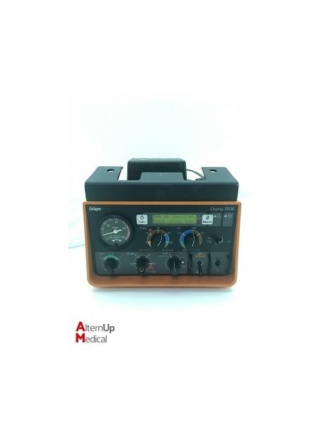 Drager Oxylog 2000 Transport Ventilator