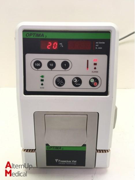Fresenius Vial Optima 3 Infusion Pump