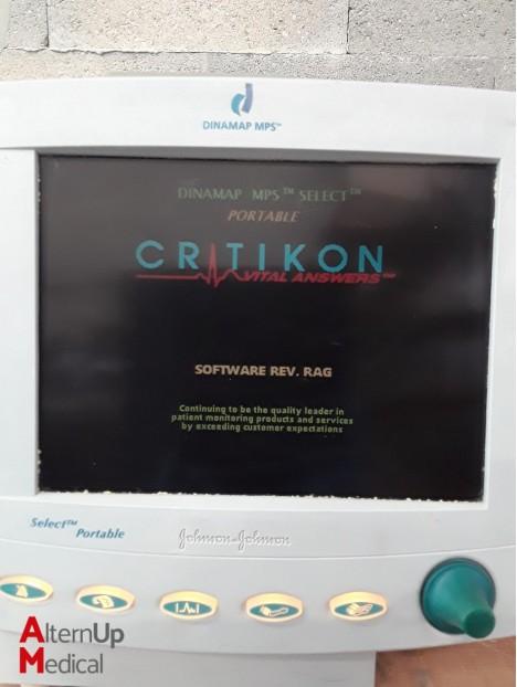Critikon Dinamap MPS Select Portable Monitor