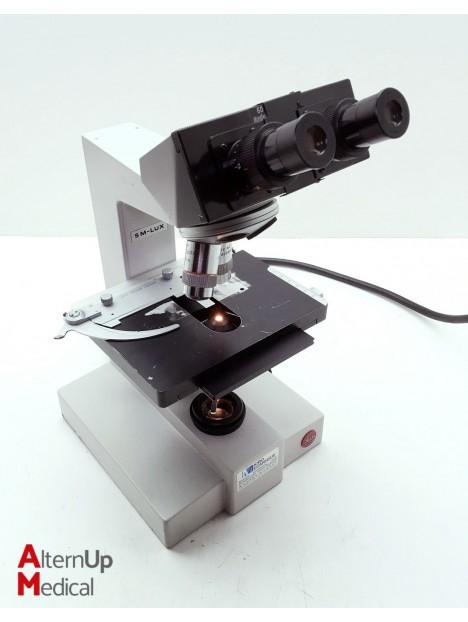 SM-LUX Leitz Binocular Microscope