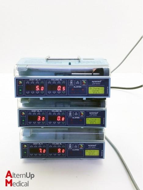 Lot of 3 Arcomed AG SP6000 Serynge Pump