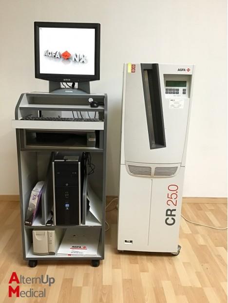 AGFA CR-25 Radiology Plate Reader