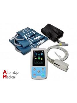 Moniteur Ambulatoire à 3 Paramètres Pouls + PNI + SPO2
