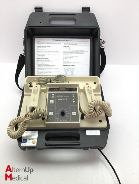 Odam Minidef 2 Defibrillator