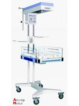 Table de réanimation néonatale avec radiant chauffant