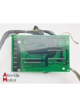 Carte électronique avec câbles pour Drager Primus