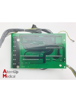 Electronic board with cables for Drager Primus