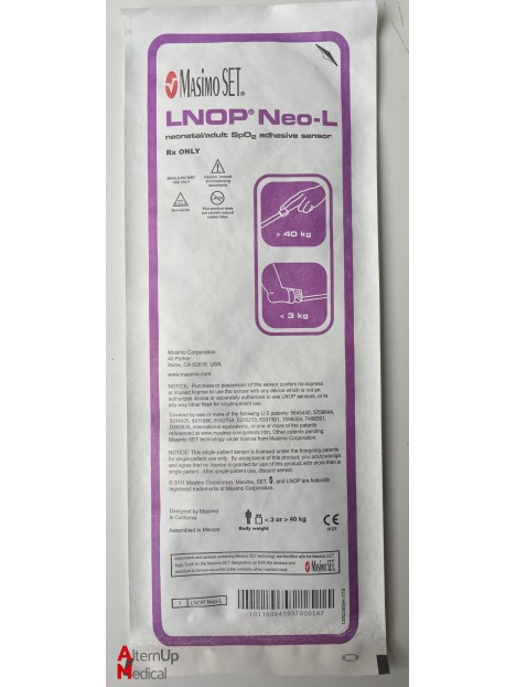 Masimo LNOPNeo-L Adhesive SpO2 Sensor